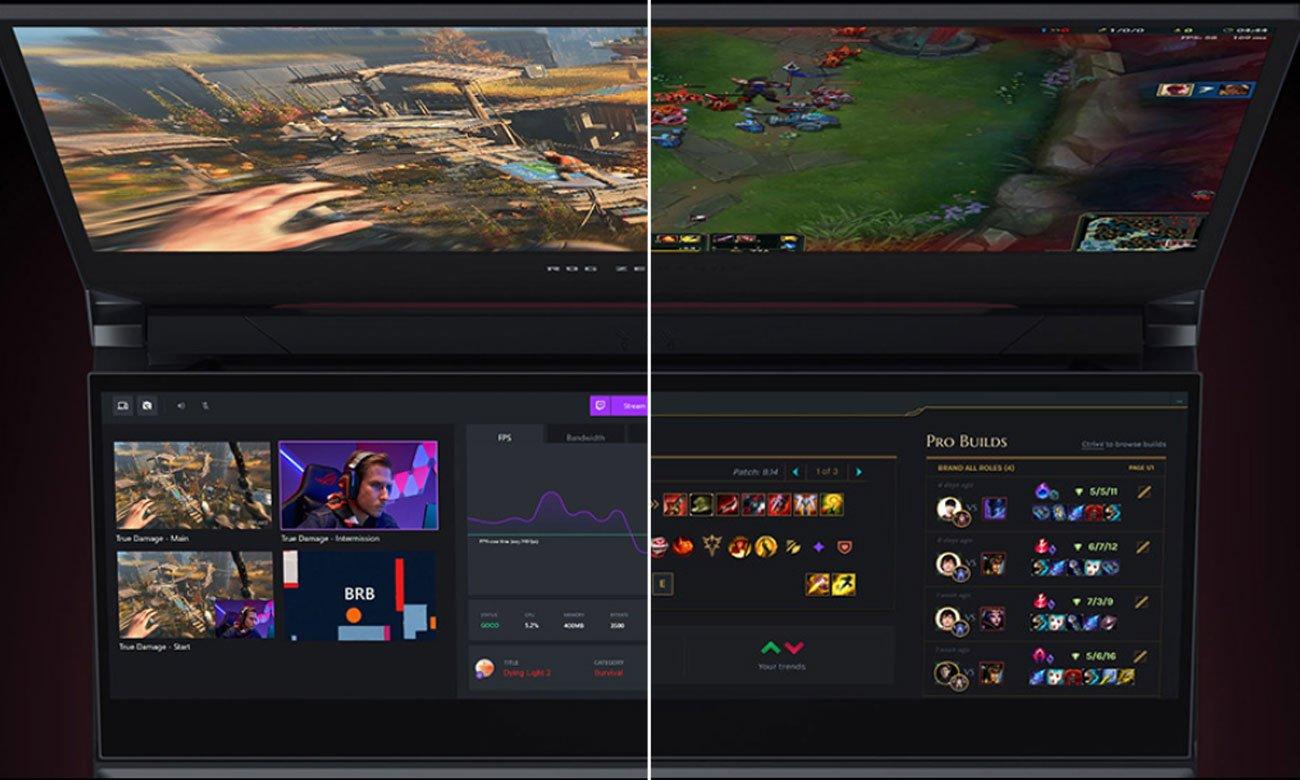 Додатковий екран ROG ScreenPad Plus