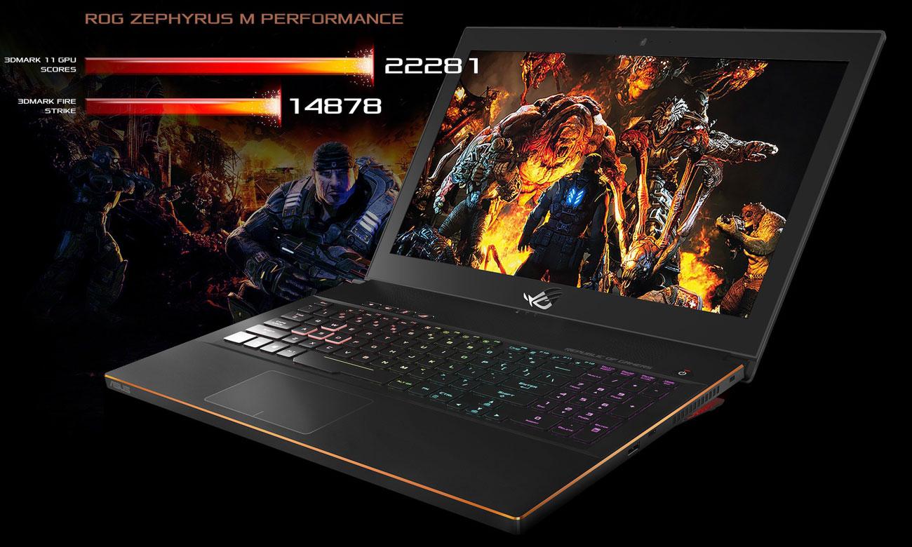 ASUS ROG Zephyrus M GM501 Perfekcyjny gaming z GeForce GTX 1070