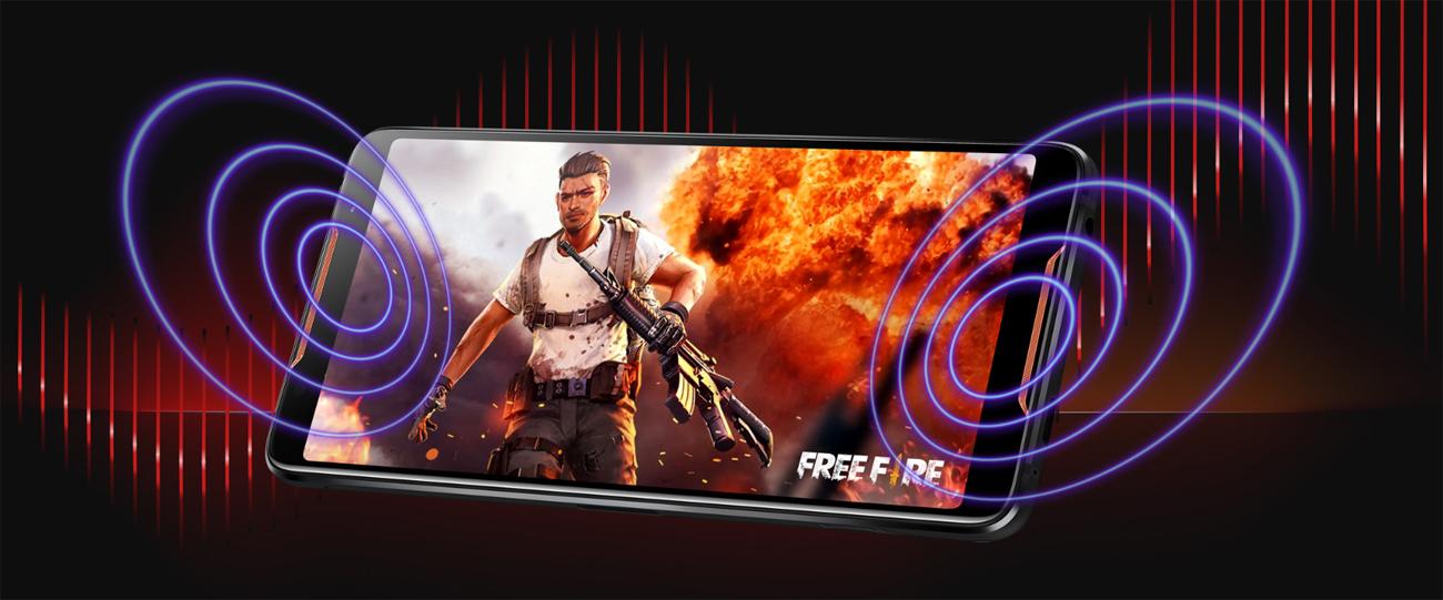 ASUS ROG Phone głośniki stereo hi resolution audio 7.1
