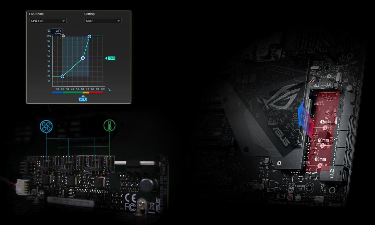 MSI X399 ROG ZENITH EXTREME Fan Xpert 4, chłodzenie