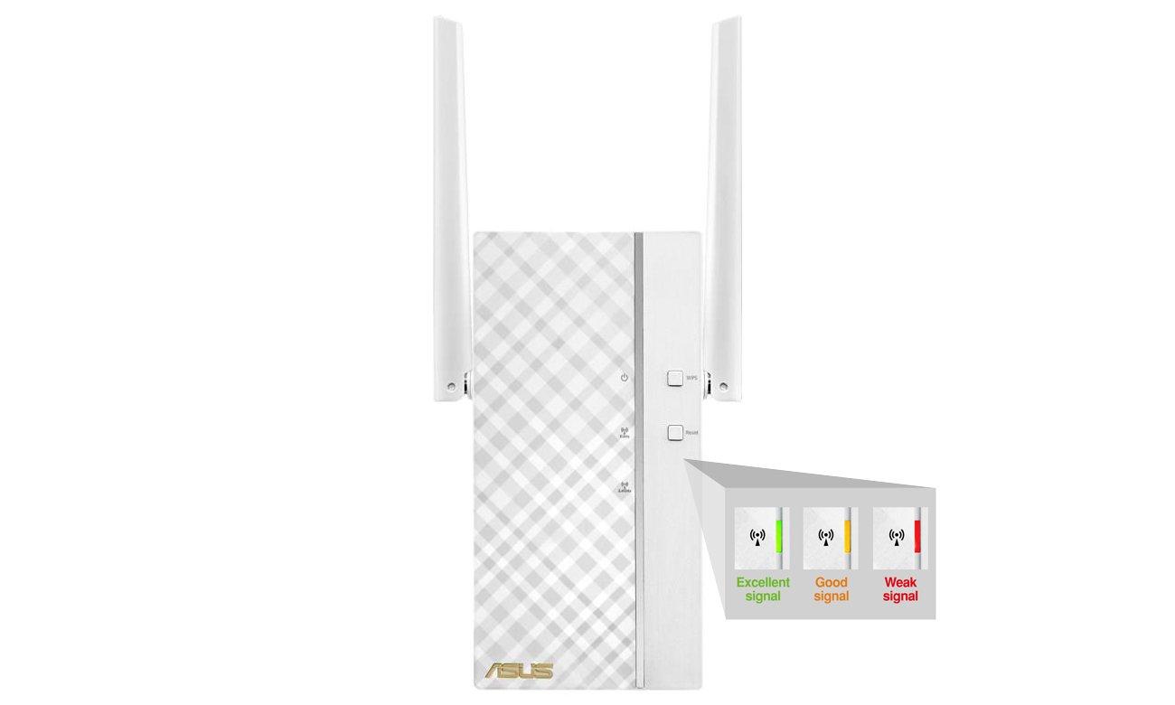 Access Point ASUS RP-AC56 - Wskaźnik mocy