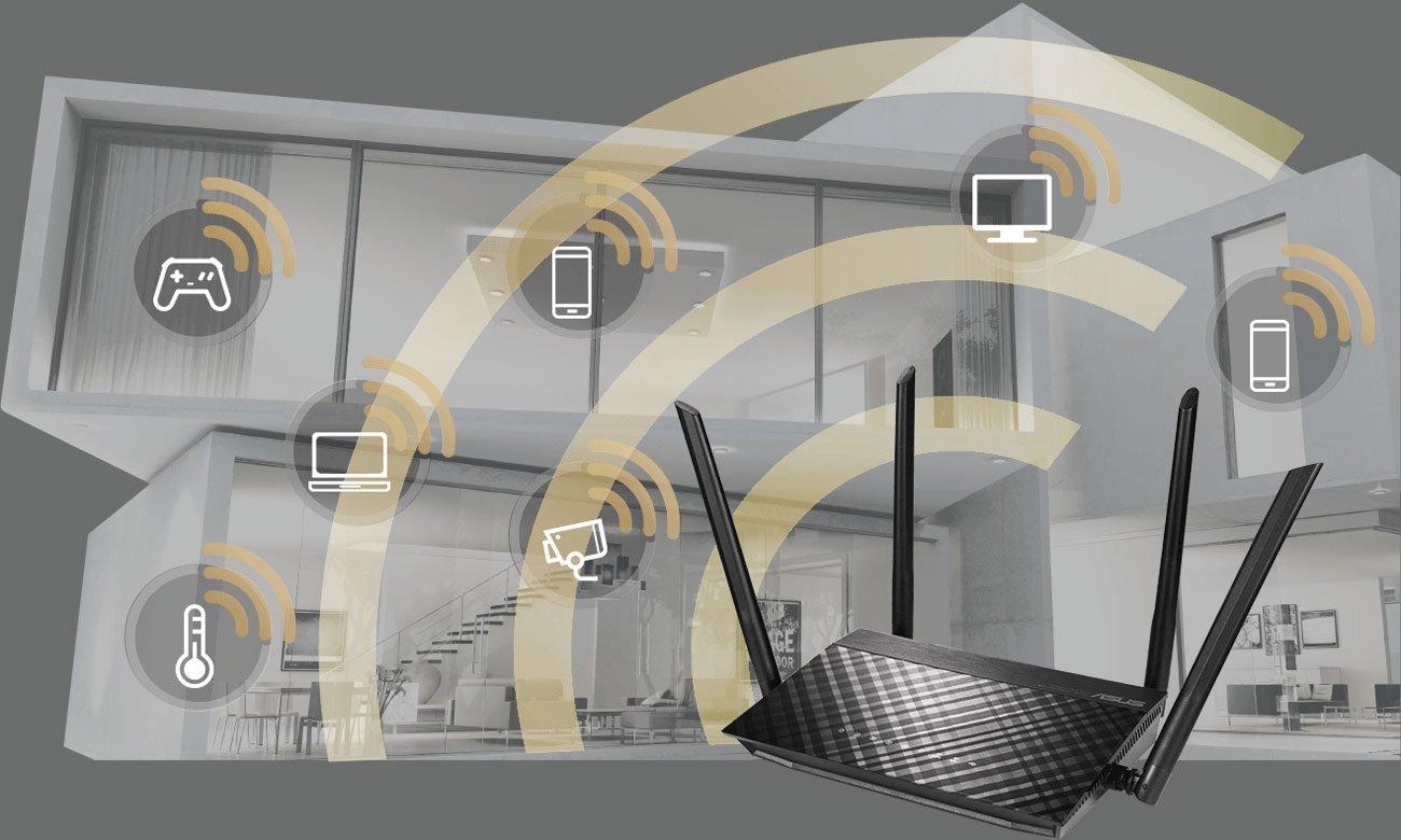 Grafika zasięg WiFi