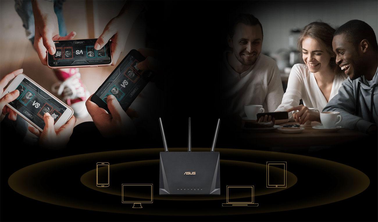 ASUS RT-AC85P Technologia MU-MIMO
