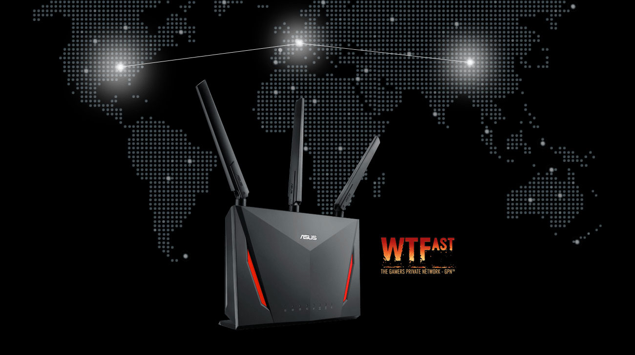 ASUS RT-AC86U WTFast Gamers Private Network