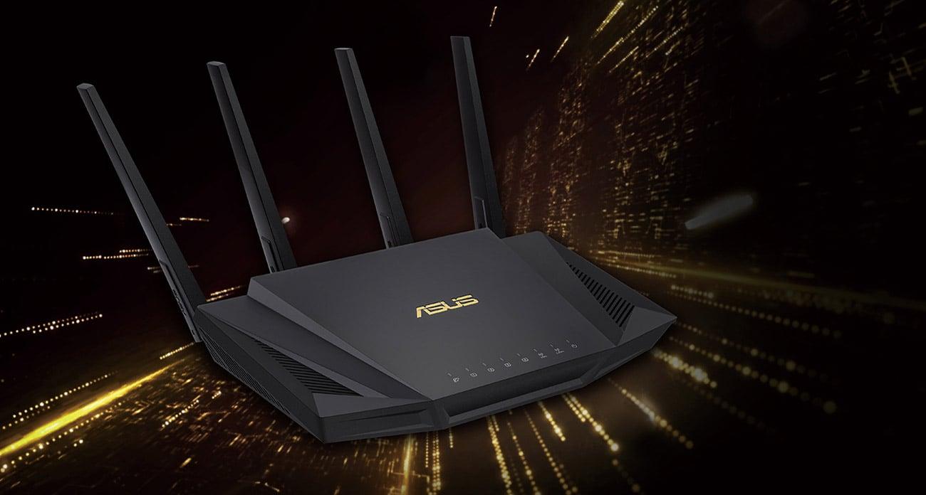 Router ASUS RT-AX58U 3000Mb/s a/b/g/n/ac/ax, 1xUSB, 4xLAN