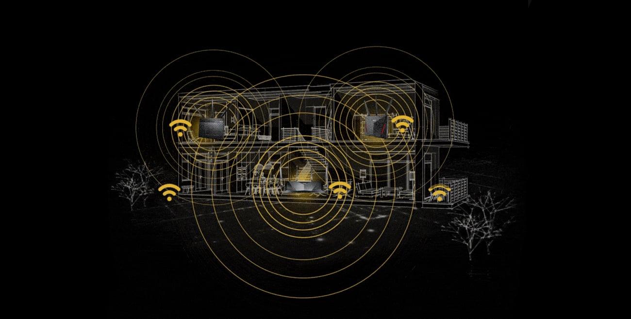 Dwuzakresowy router Wi-Fi ASUS RT-AX88U