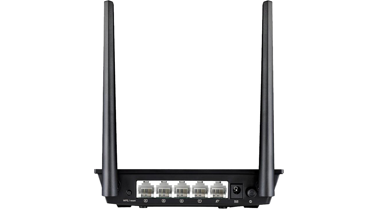 Router ASUS RT-N12+ PLUS złącza