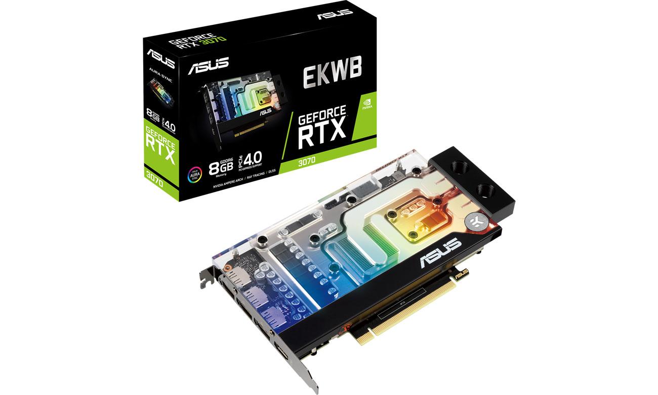 Karta graficzna NVIDIA ASUS GeForce RTX 3070 EKWB 8GB GDDR6 RTX3070-8G-EK