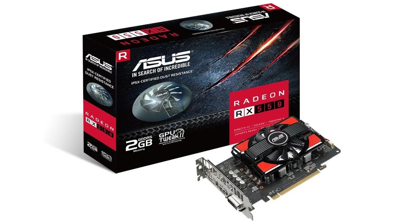 ASUS Radeon RX 550 2GB GDDR5