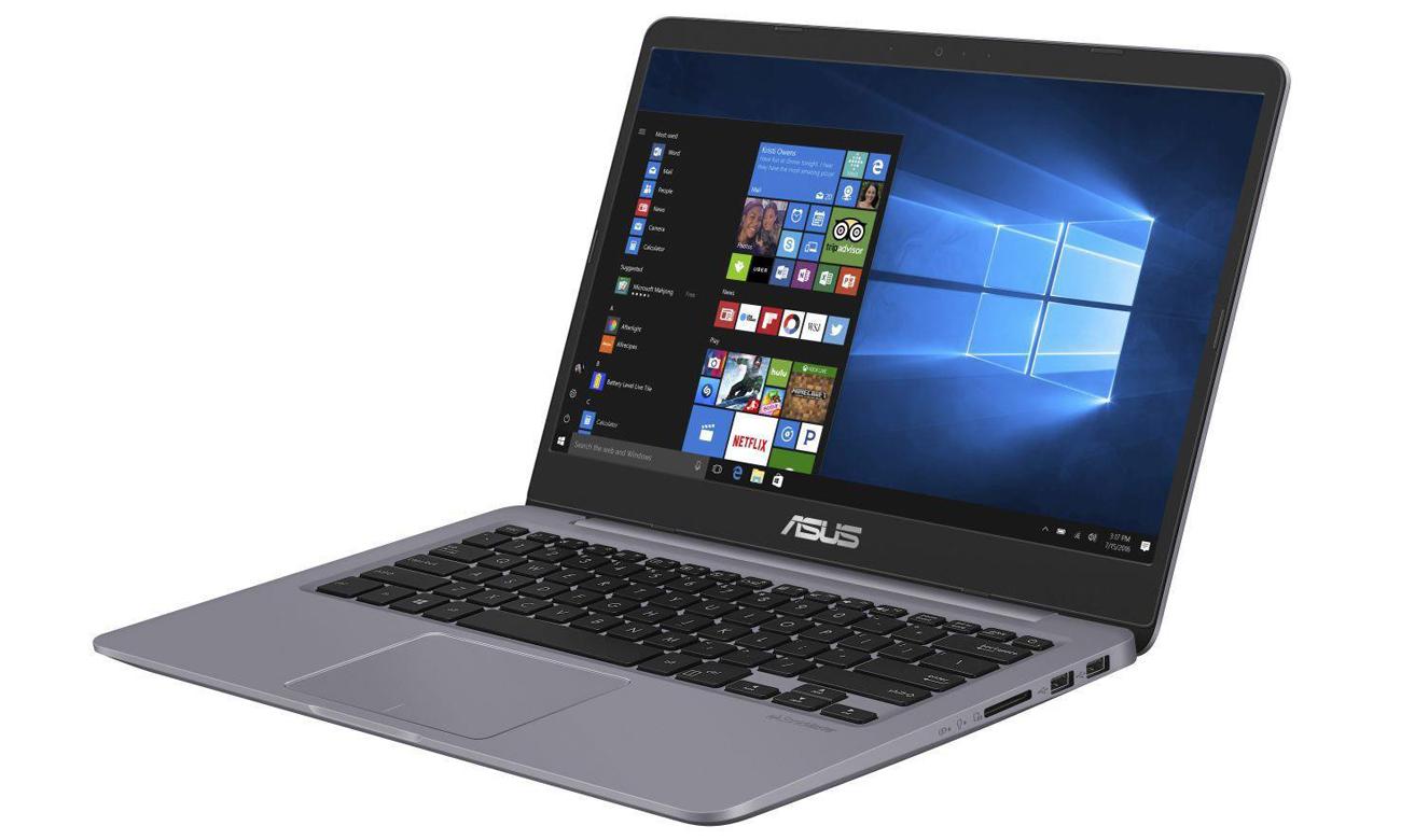ASUS VivoBook S14 S410UA układ graficzny intel HD graphics