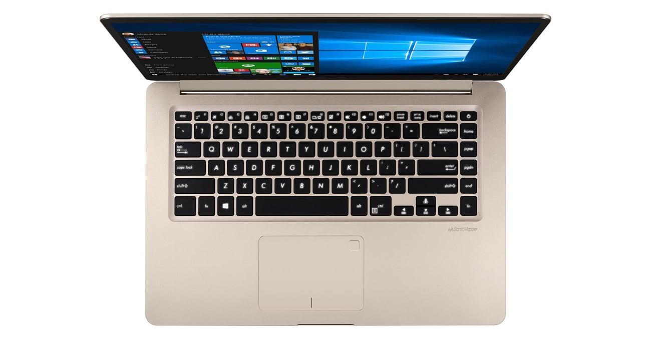 ASUS VivoBook S15 S510UN Ergonomiczna, podświetlana klawiatura