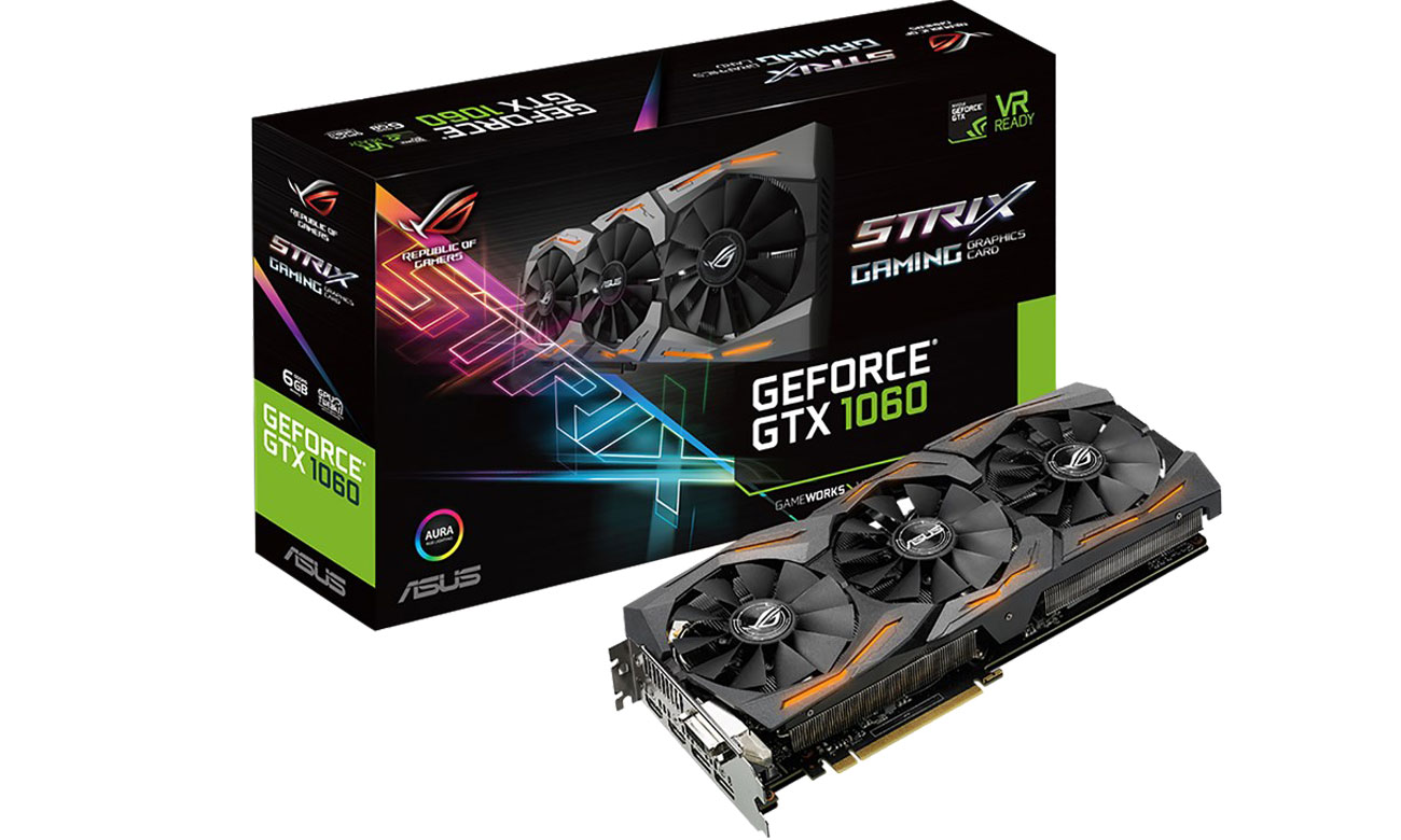 ASUS GTX1060 strix