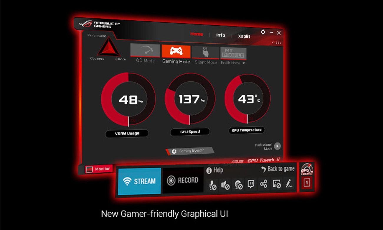 ASUS GTX1080 Founders Edition - GPU Tweak