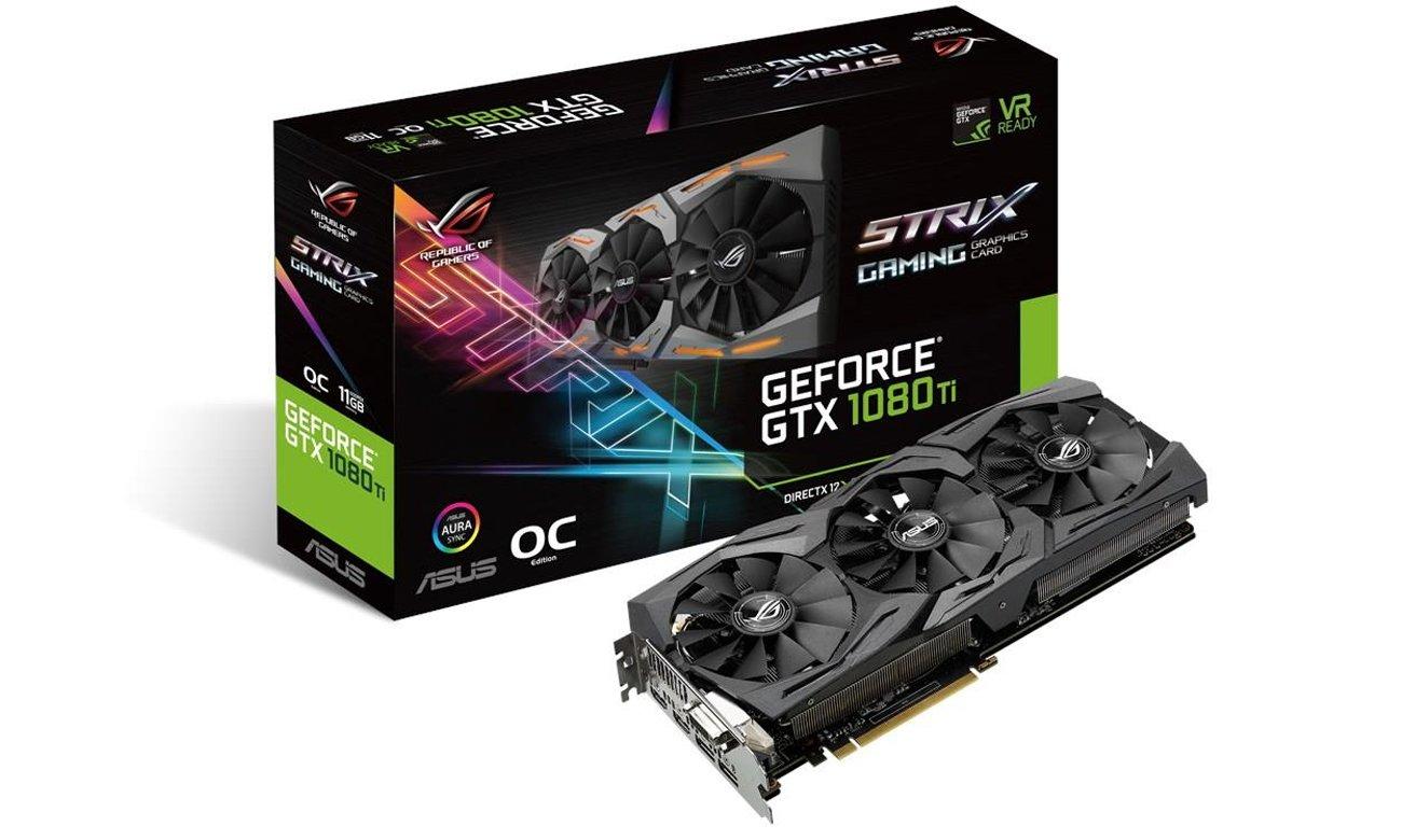 ASUS GeForce GTX 1080Ti Strix ROG 11GB GDDR5X