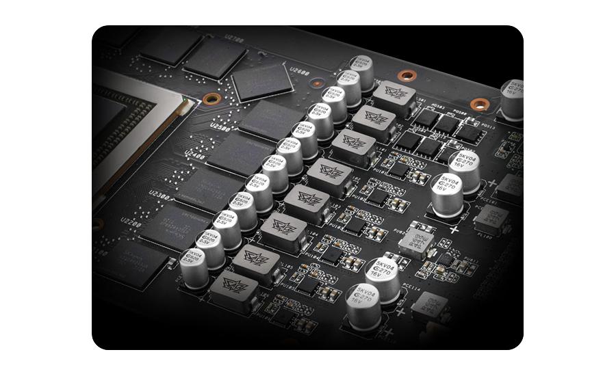 GeForce GTX 950 Strix technologia