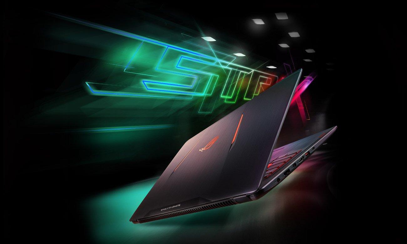 ASUS ROG Strix GL502VM procesor intel core i7 siódmej generacji