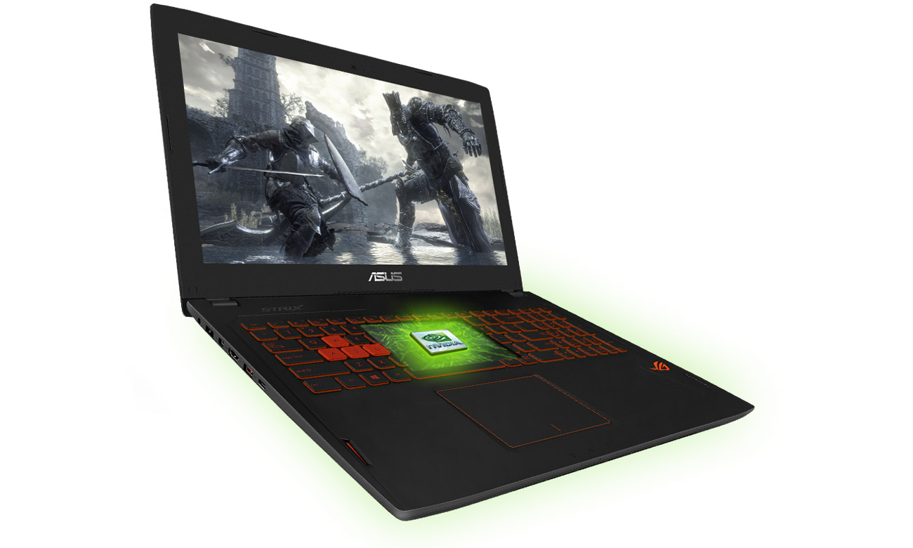 Laptop ASUS ROG Strix GL502VS i7 karta graficzna GeForce GTX 1070