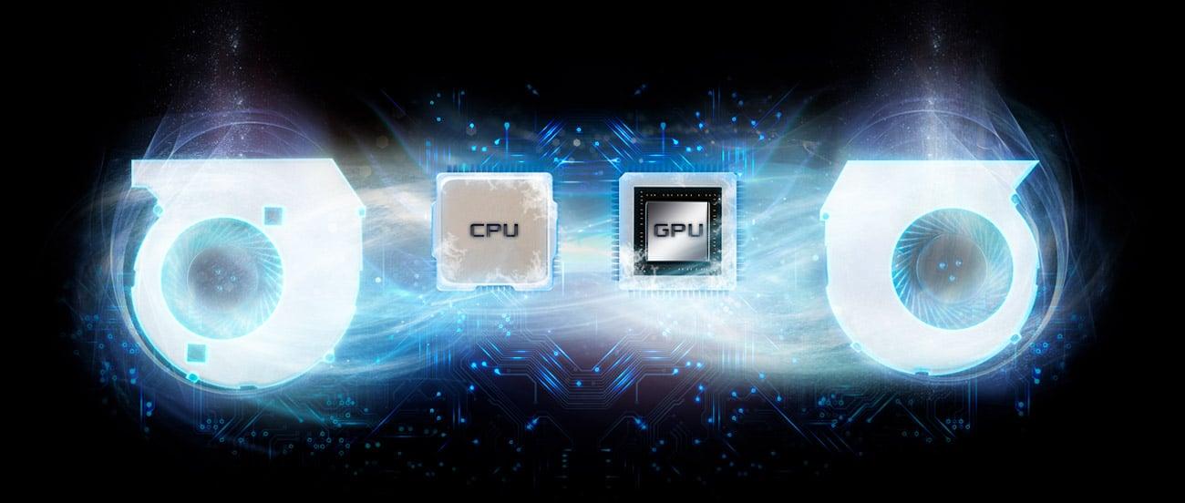 Laptop ASUS ROG Strix GL502VS i7 konstrukcja terminaczna układ chłodzenie hyper cool duo copper