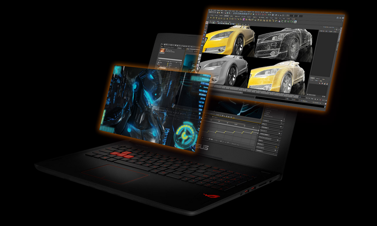 Laptop ASUS ROG Strix GL502VS i7 do 32gb pamięci ddr4