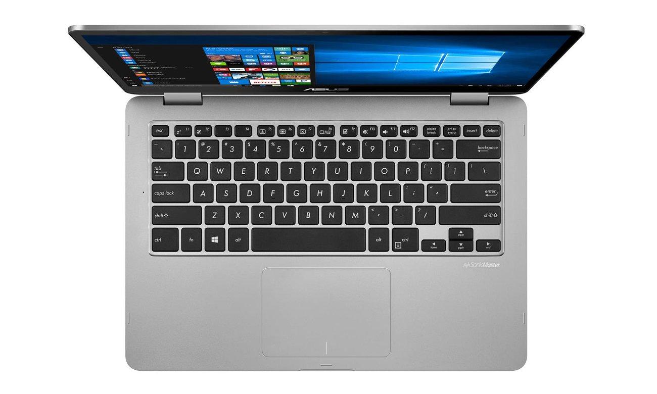 ASUS VivoBook Flip 14 podświetlana klawiatura