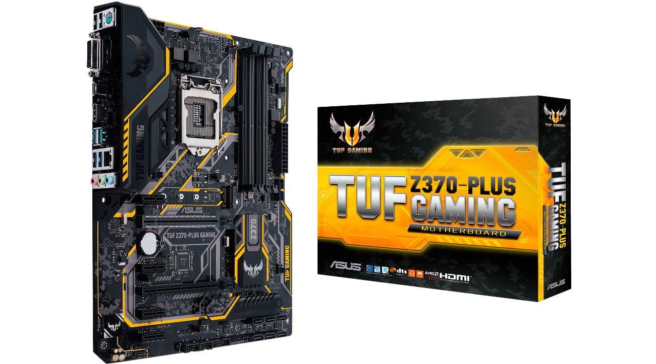 Płyta główna Socket 1151 ASUS TUF Z370-PLUS GAMING