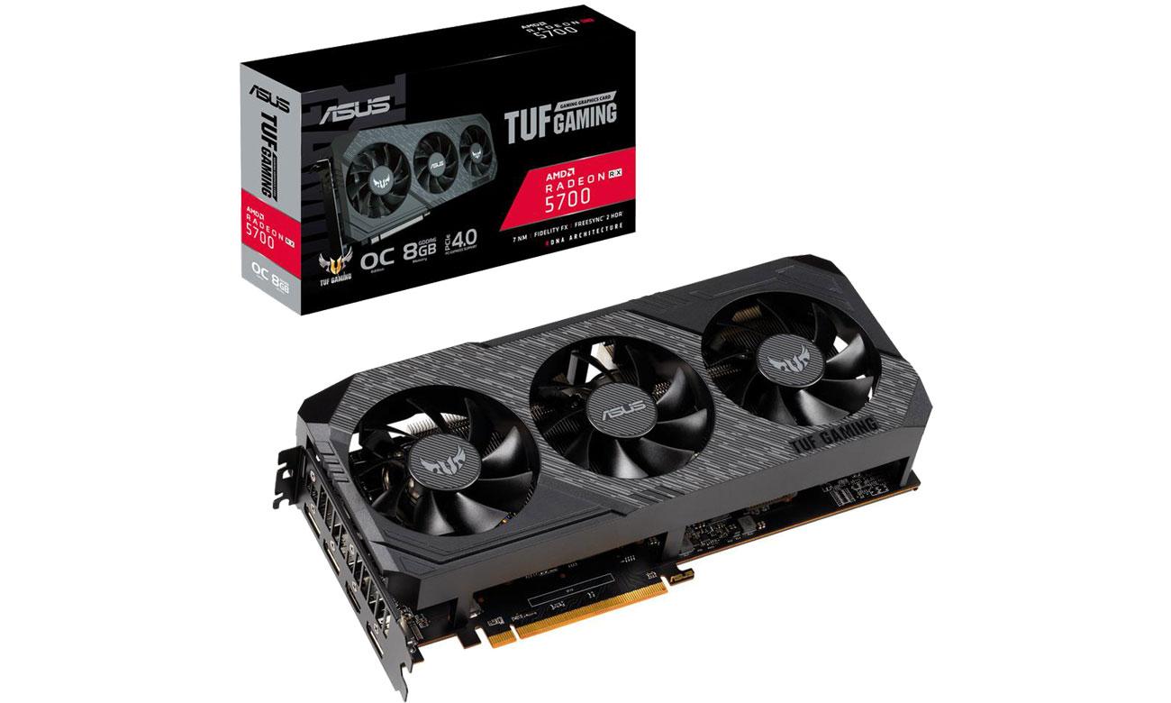 Karta graficzna AMD ASUS Radeon RX 5700 TUF OC 8GB GDDR6 TUF 3-RX5700-O8G-GAMING