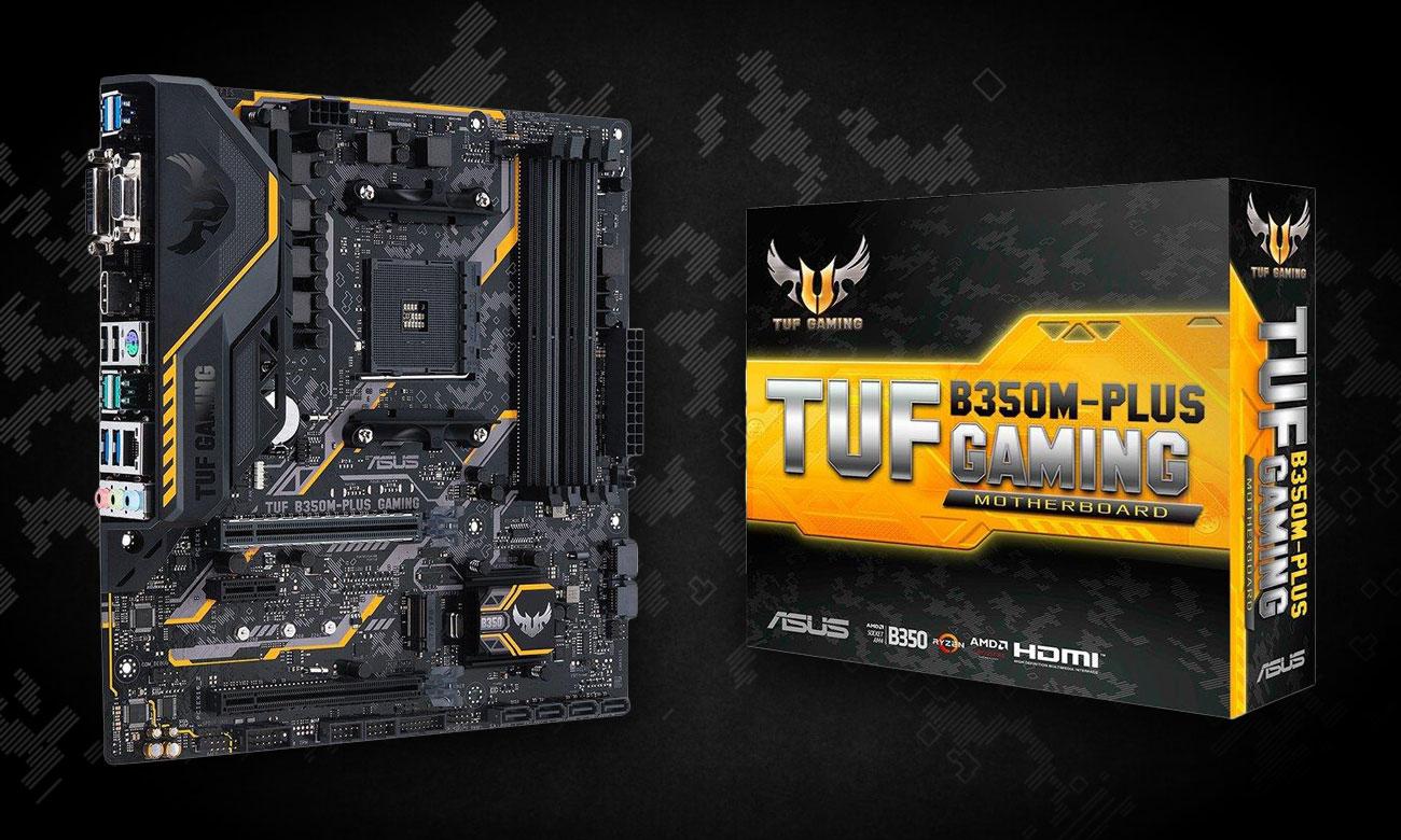 ASUS TUF B350M-PLUS GAMING Gamingowa płyta główna