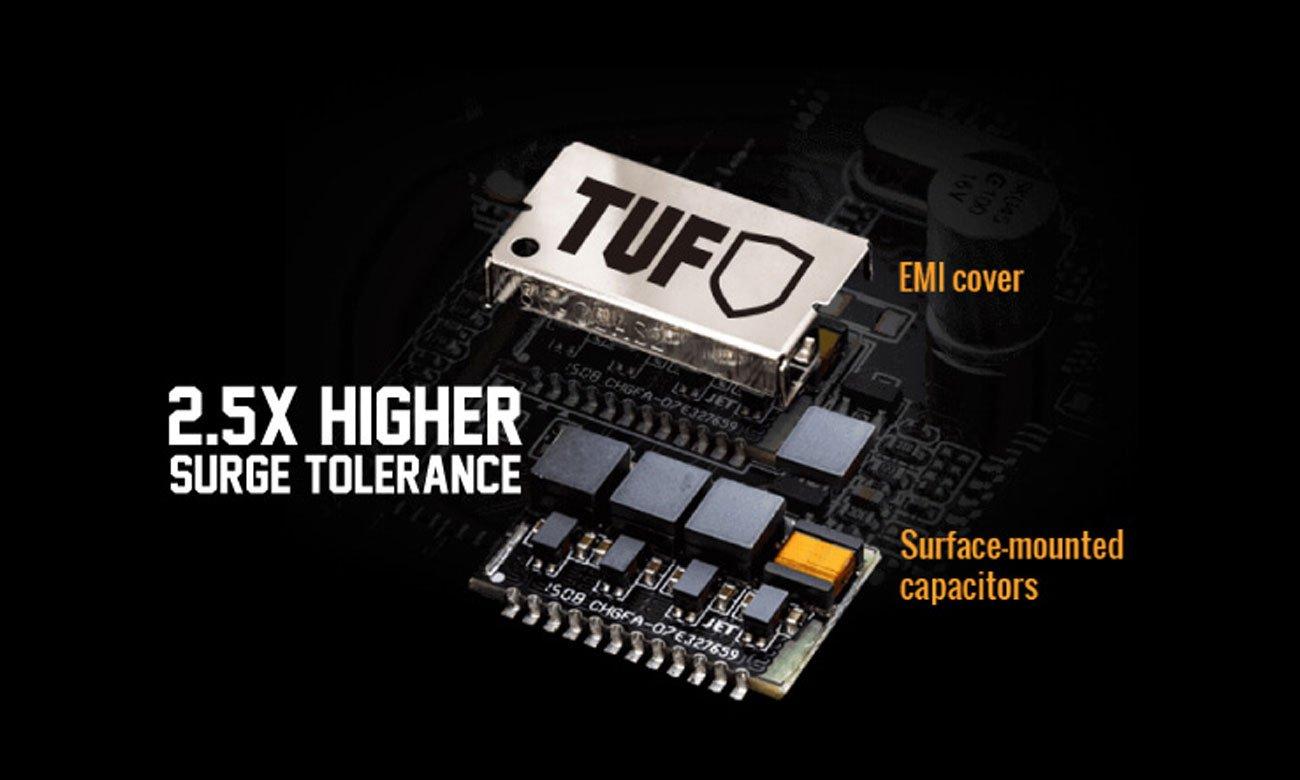 ASUS TUF B360-Plus Gaming Większa przepustowość, mniejsze obciążenie CPU