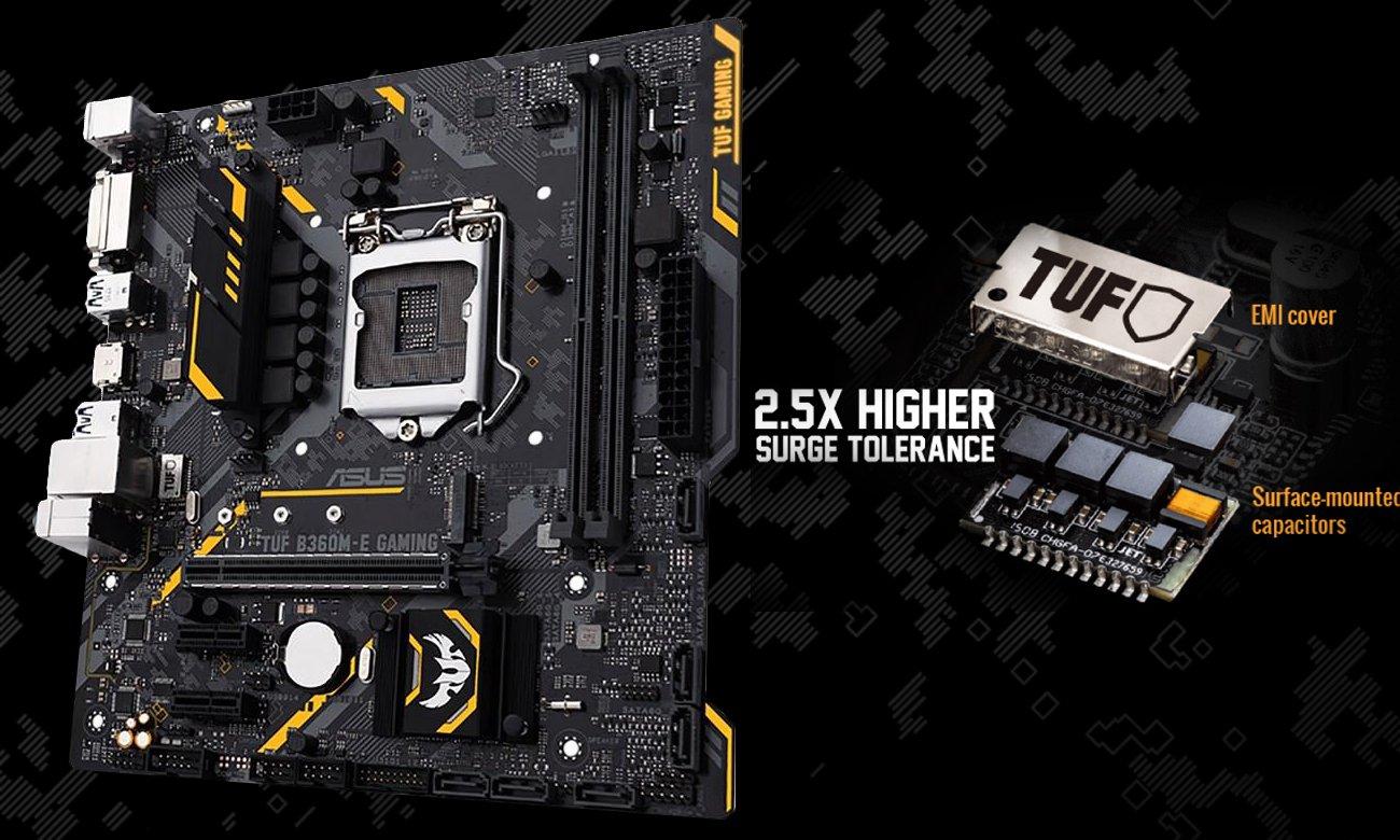ASUS TUF B360M-E Gaming Zabezpieczenie sieciowe TUF LANGuard
