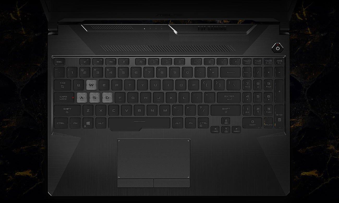 ASUS TUF Gaming F15 klawiatura