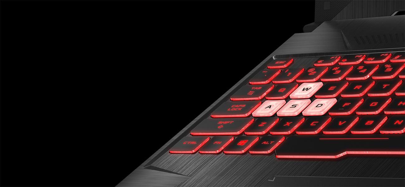 Klawiatura z podświetleniem RGB