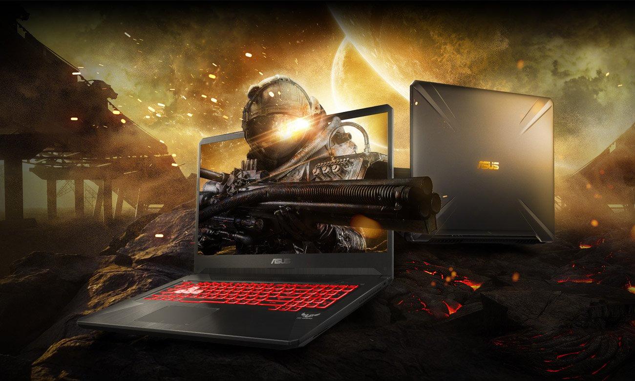 ASUS TUF Gaming FX705 Nowoczesny, niezwykle potężny laptop gamingowy