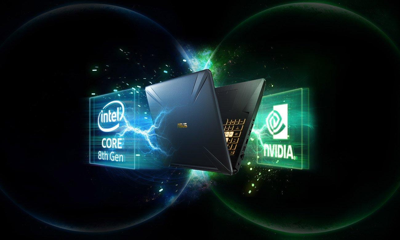 ASUS TUF Gaming FX705 Procesor Intel Core i5 ósmej generacji