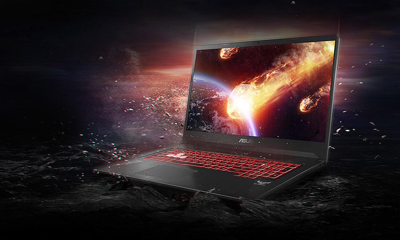 ASUS TUF Gaming FX705 GeForce GTX 1050 Twój gamingowy oręż