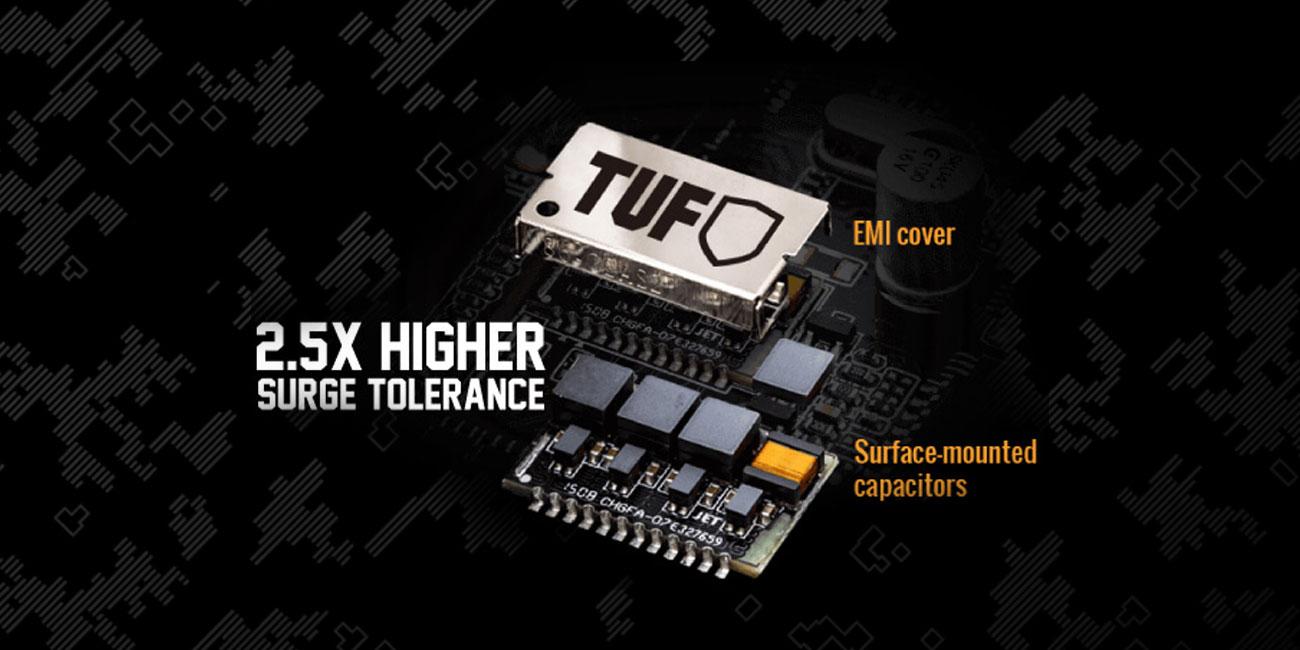 ASUS TUF H310M-Plus Gaming Łączność sieciowa dla graczy TUF LANGuard