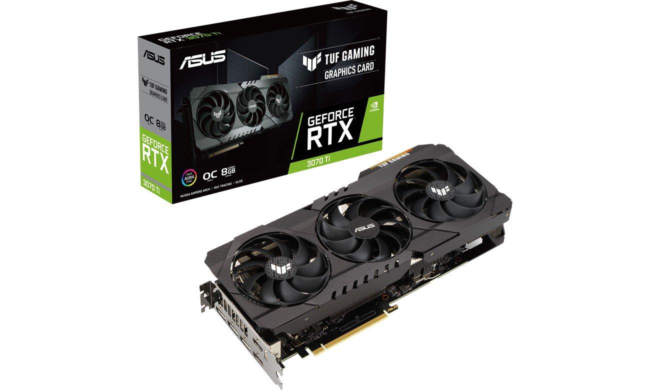 ASUS GeForce RTX 3070 Ti TUF Gaming OC 8GB GDDR6X TUF-RTX3070TI-O8G-GAMING