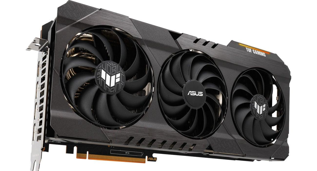 ASUS Radeon RX 6800 XT TUF GAMING OC - Chłodzenie