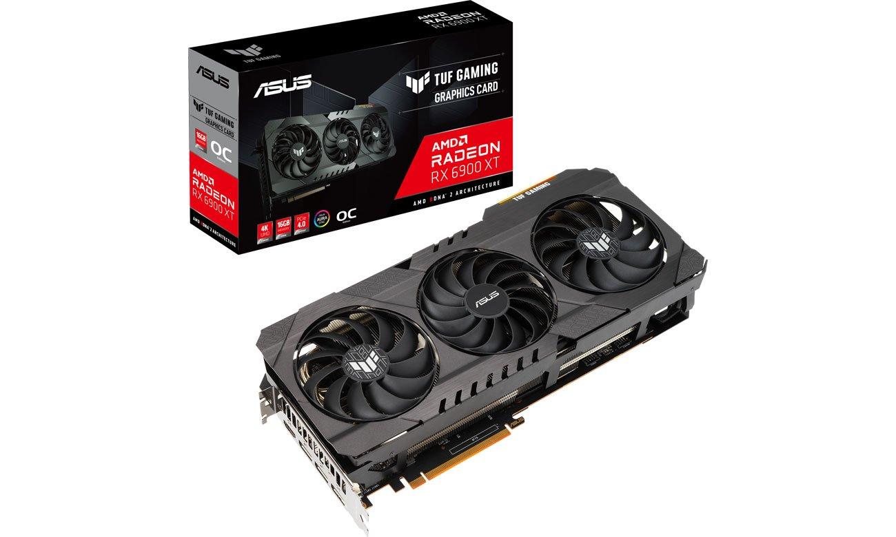 Karta graficzna AMD ASUS Radeon RX 6900 XT TUF GAMING OC Edition 16GB GDDR6 TUF-RX6900XT-O16G-GAMING