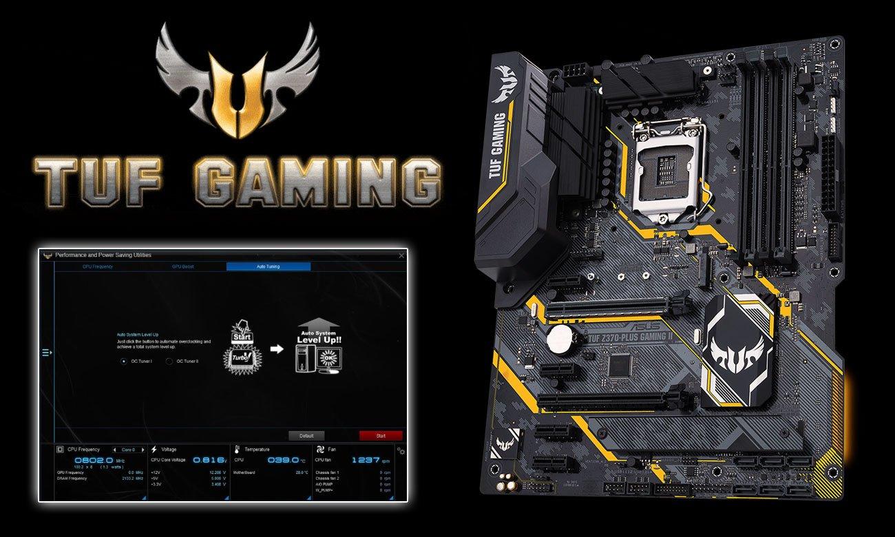ASUS TUF Z370-PLUS GAMING II Podkręcanie TUF Gaming