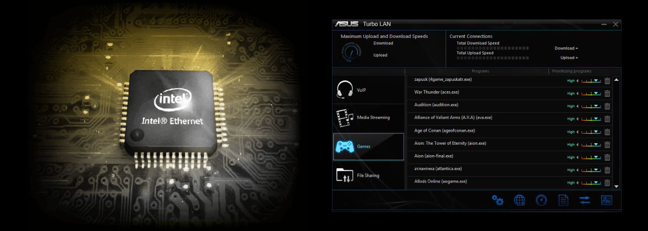 ASUS TUF Z390-PLUS GAMING Intel LAN