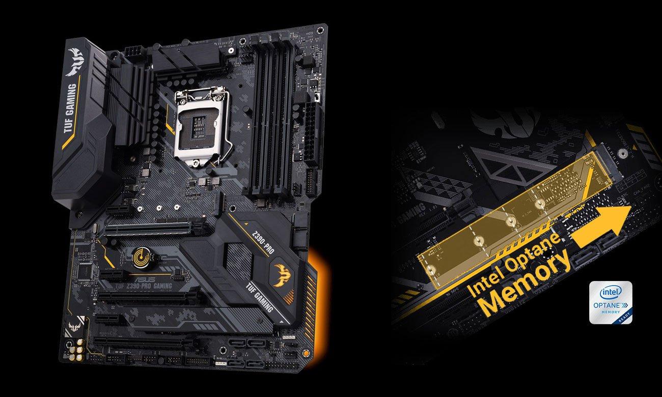 ASUS TUF Z390-PRO GAMING Złącze M.2 Intel Optane