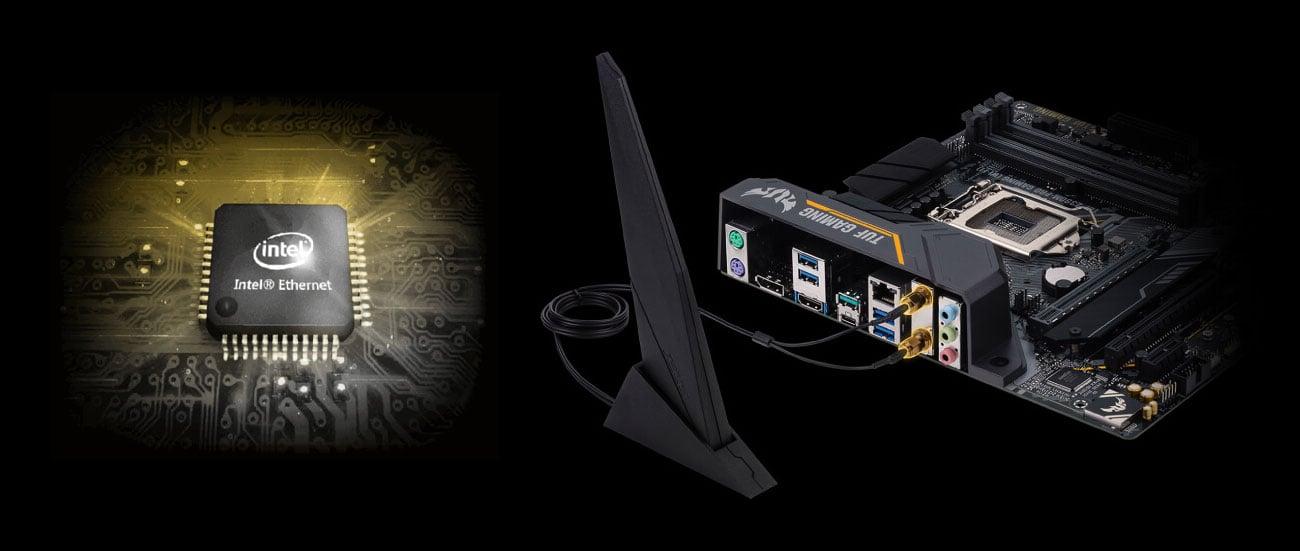 ASUS TUF Z390M-PRO GAMING (WI-FI) Łączność z siecią