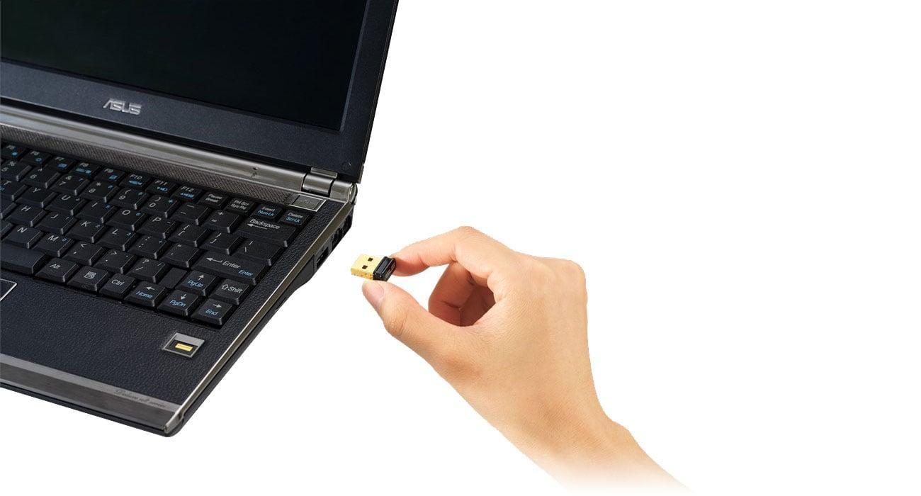 ASUS USB-N10 Nano B1 - Kompaktowy rozmiar