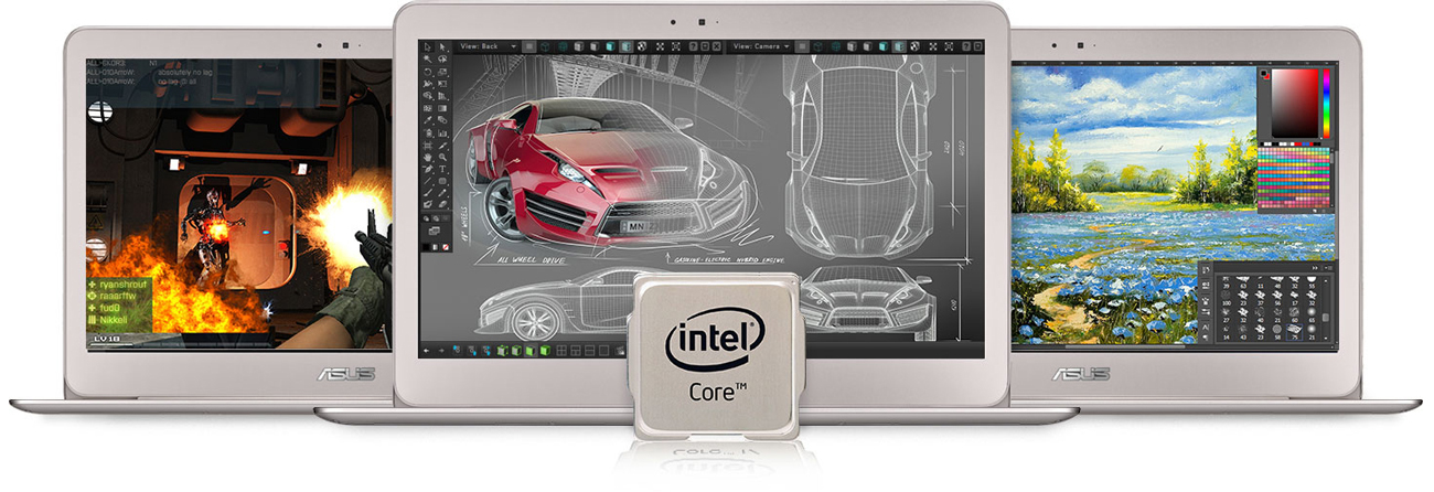 ASUS ZenBook UX306UA procesor intel core i7 szóstej generacji