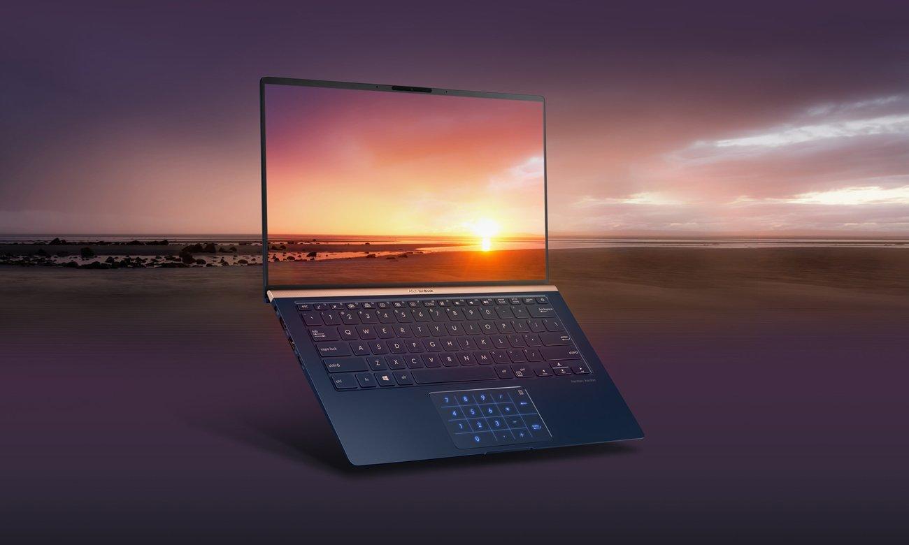 Procesor Intel Core i5 ósmej generacji w ASUS ZenBook UX433FN