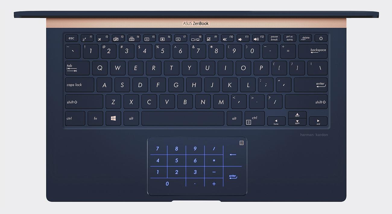 Производительность клавиатуры ASUS ZenBook UX433FN