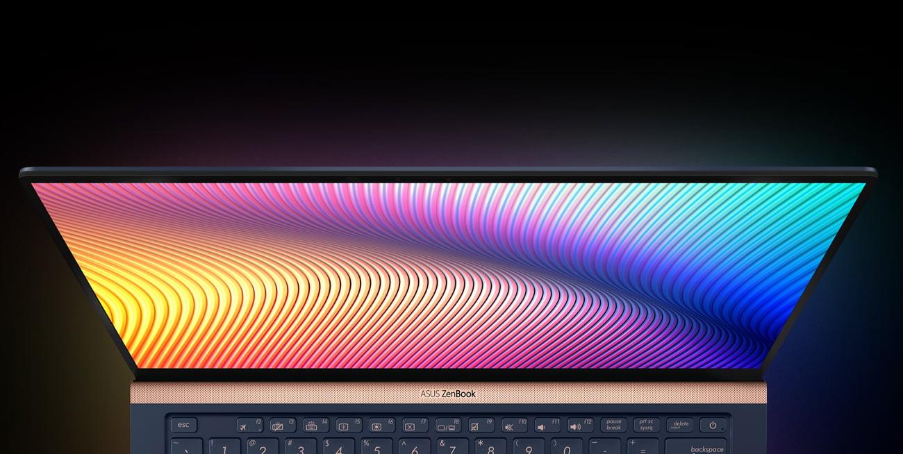 ASUS ZenBook UX433FN efekty wizualne