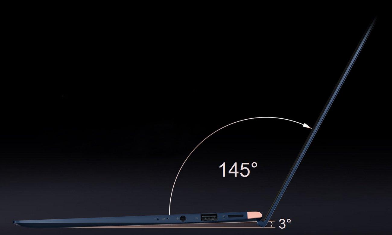 ASUS ZenBook UX433FN komfort zawias ergolift