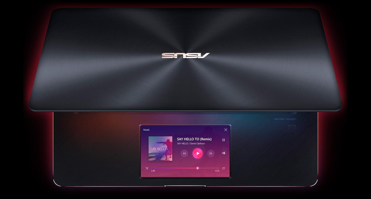 Tryb rozszerzenia ekranu ScreenPad
