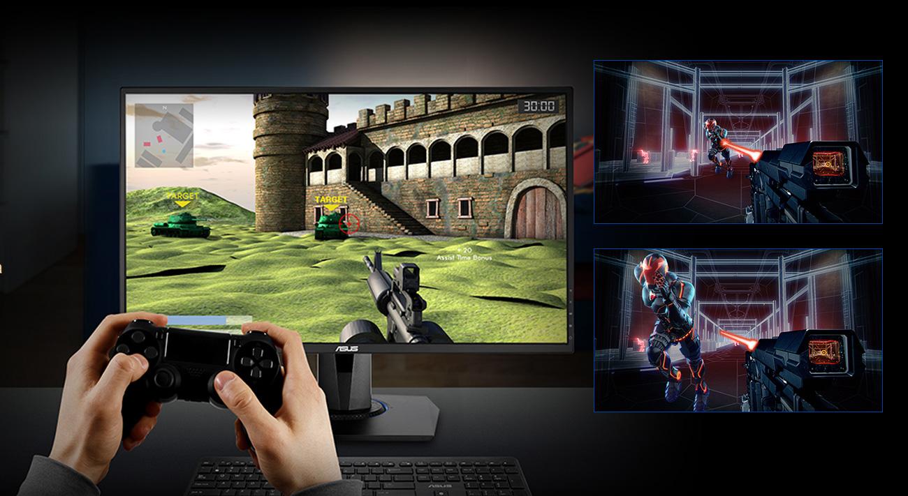 ASUS VG245Q Technologia GameFast Input